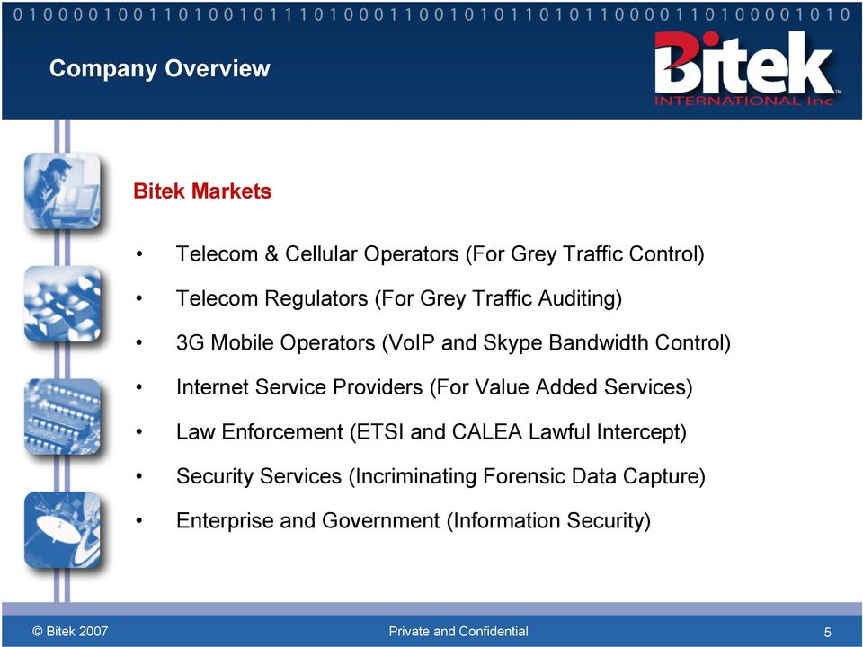 Internet Service Providers (For Value Added Services) Law Enforcement (ETSI and CALEA Lawful