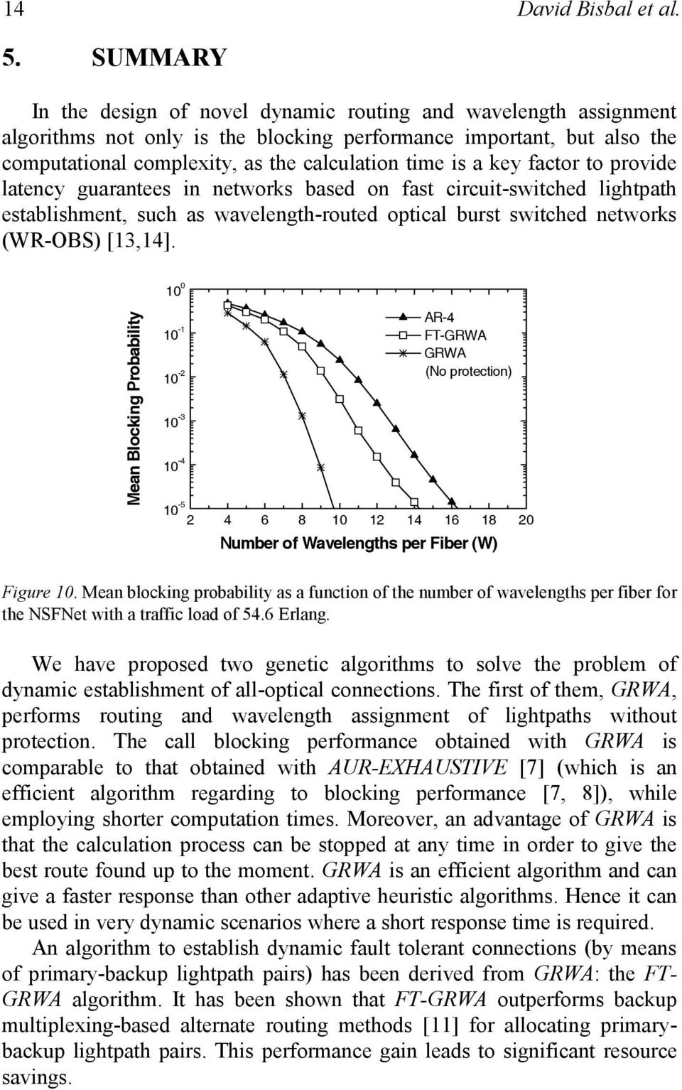 key factor to provide latency guarantees in networks based on fast circuit-switched lightpath establishment, such as wavelength-routed optical burst switched networks (WR-OBS) [13,14].