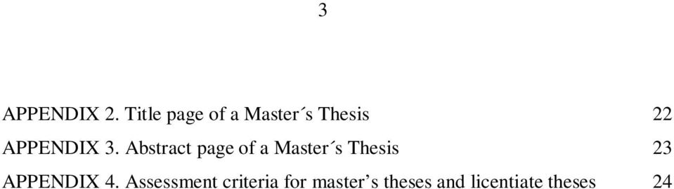 3. Abstract page of a Master s Thesis 23