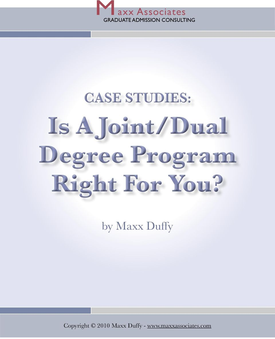 Degree Program Right For You?