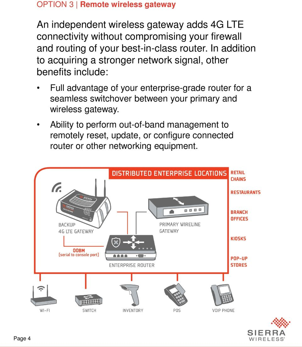 In addition to acquiring a stronger network signal, other benefits include: Full advantage of your enterprise-grade router