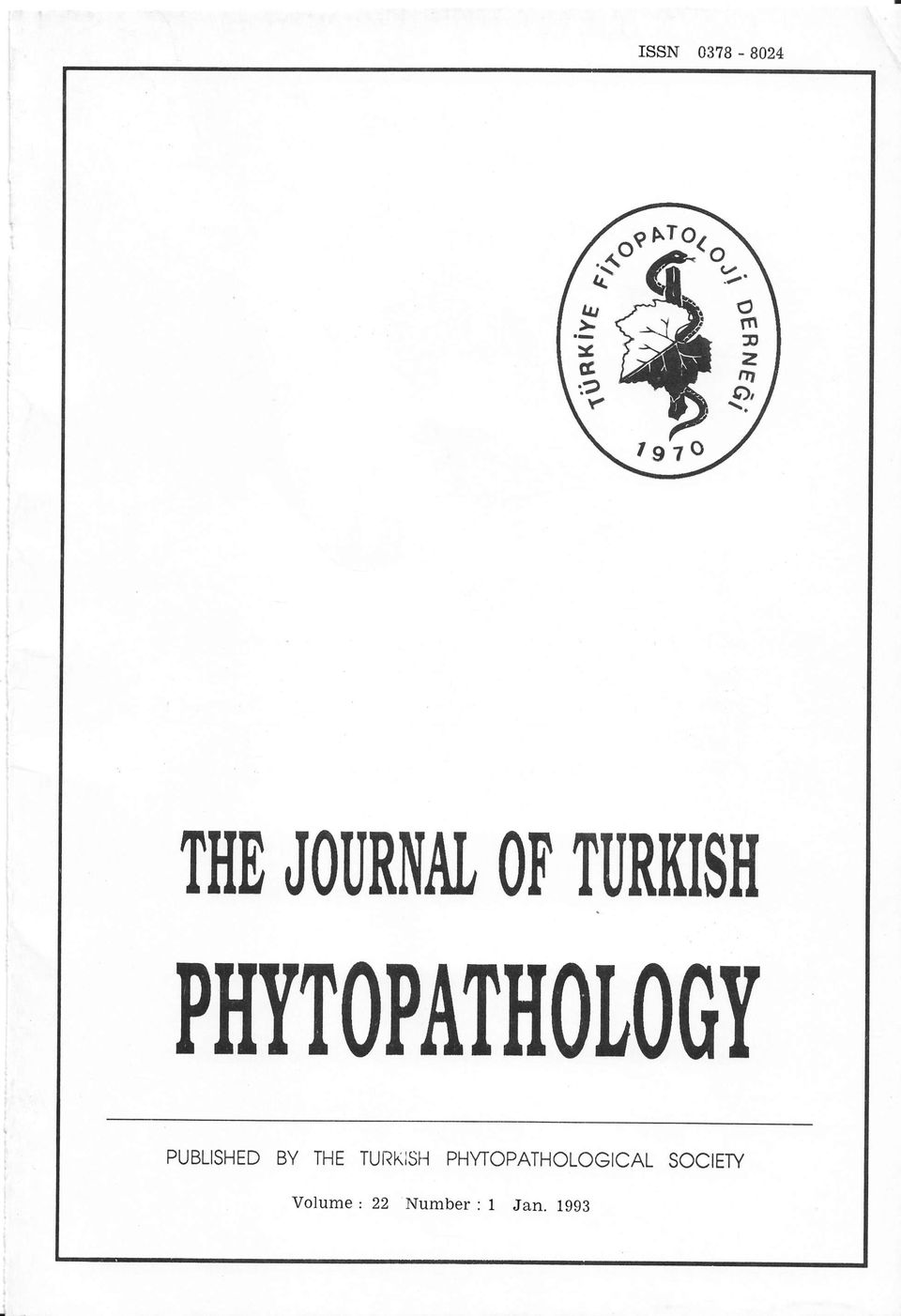 PHYTOPATIIOLOOY PUBLISHED BY THE