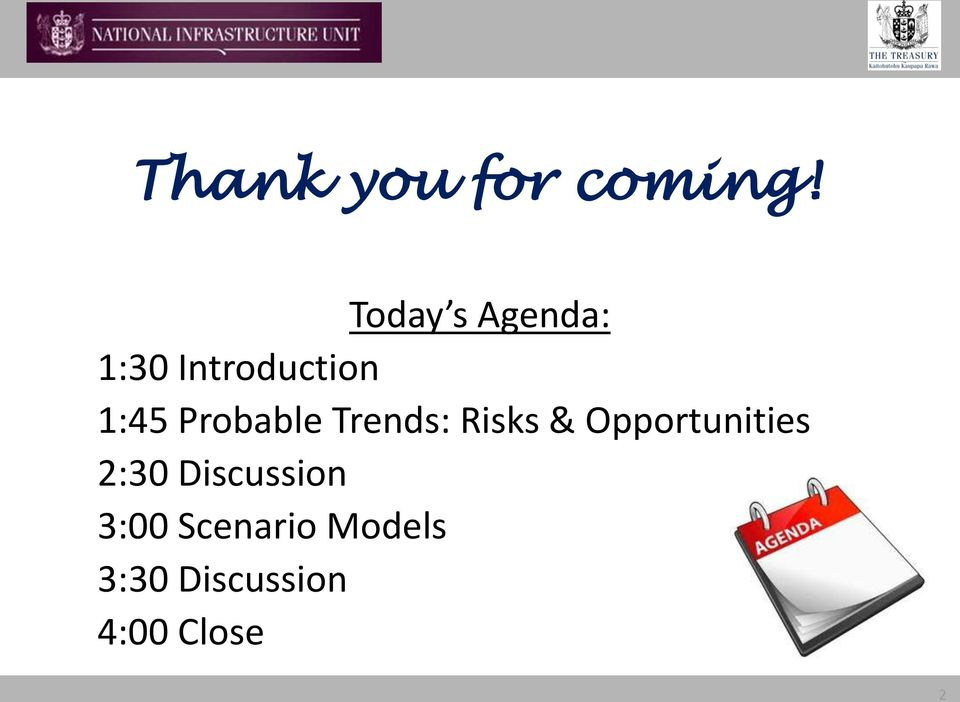 Probable Trends: Risks & Opportunities