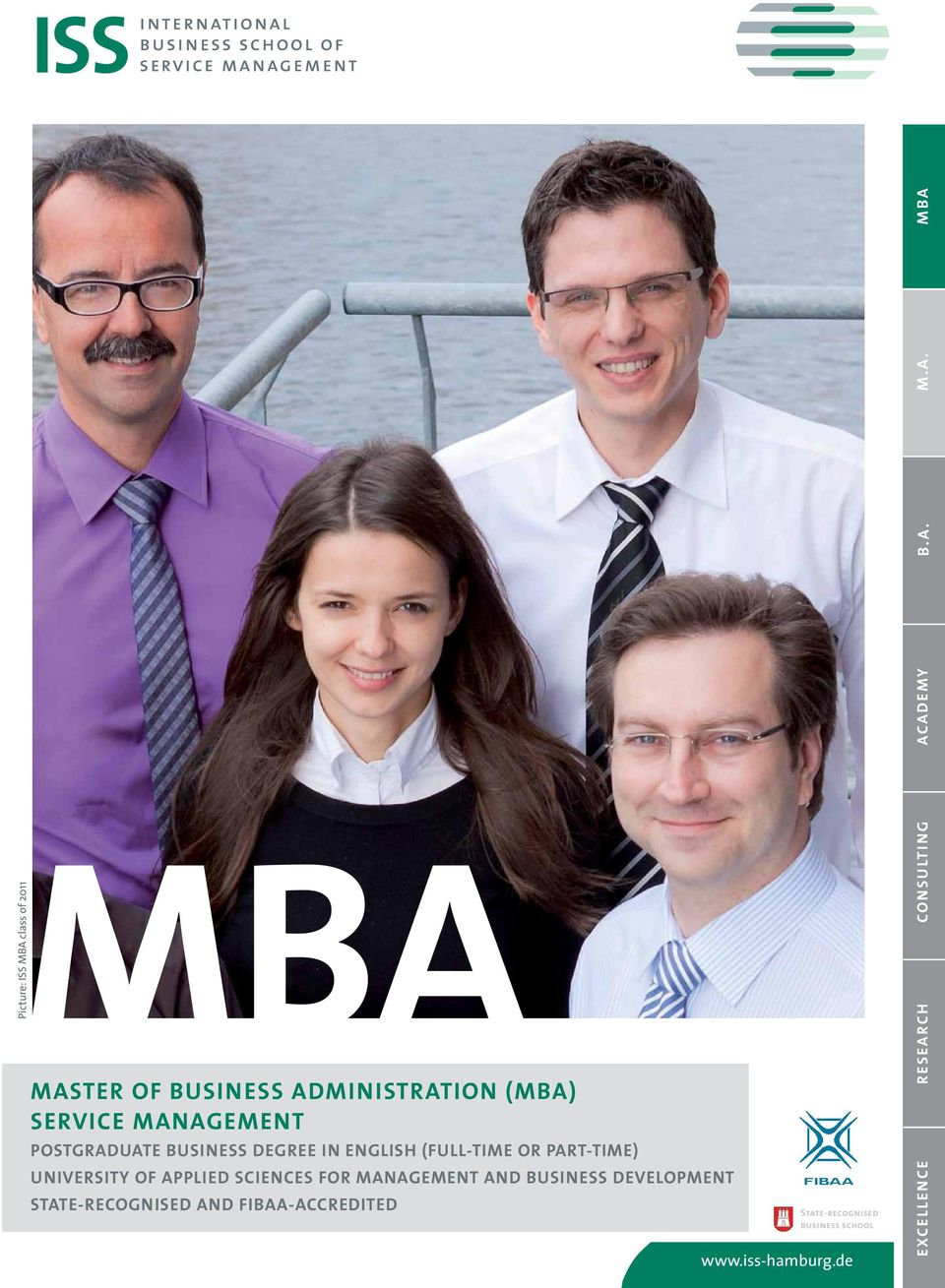 ADEMY B.A. M.A. MBA MBA MASTER of Business Administration (MBA) Service Management