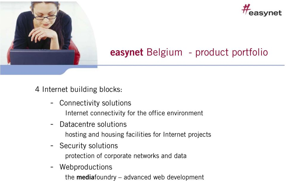 hosting and housing facilities for Internet projects - Security solutions