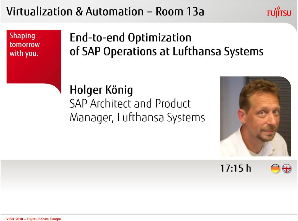 End-to-end Optimization of SAP Operations at