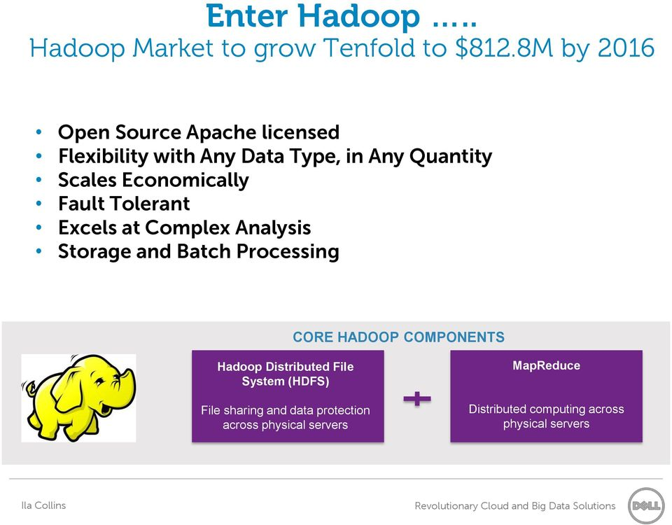 Economically Fault Tolerant Excels at Complex Analysis Storage and Batch Processing CORE HADOOP