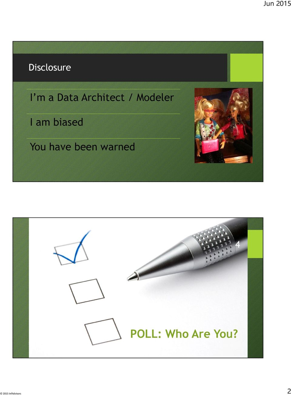 warned 4 POLL: Who Are You?