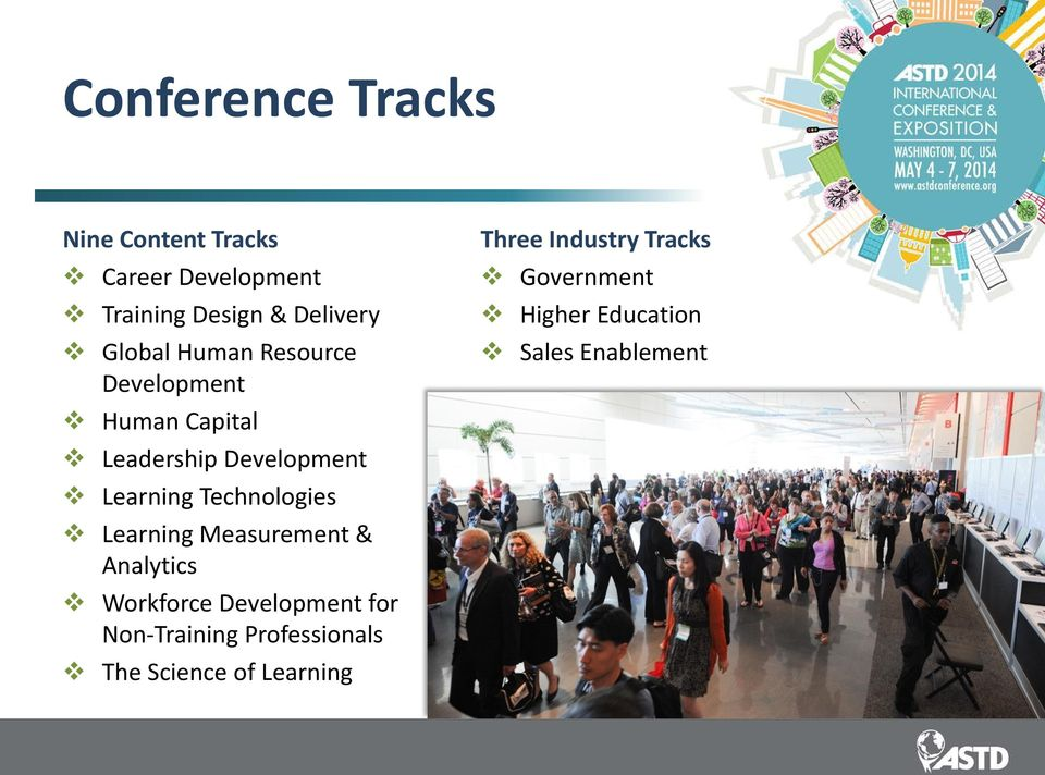Technologies Learning Measurement & Analytics Workforce Development for Non-Training