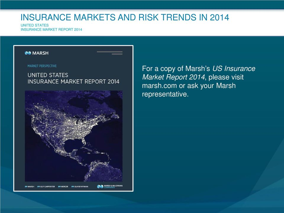Insurance Market Report 2014, please