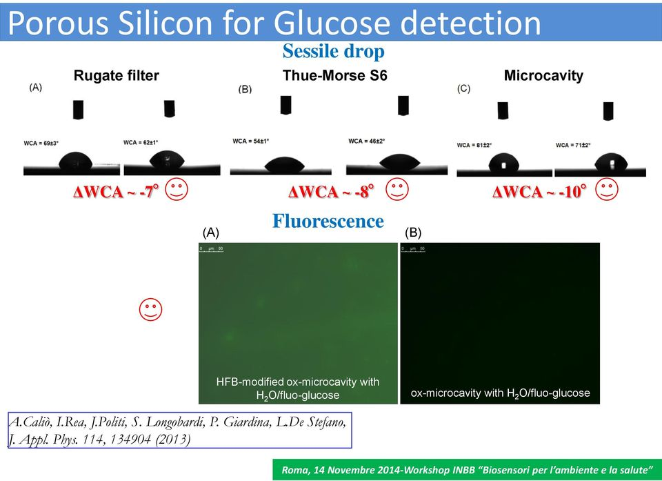 ox-microcavity with H 2 O/fluo-glucose ox-microcavity with H 2 O/fluo-glucose A.