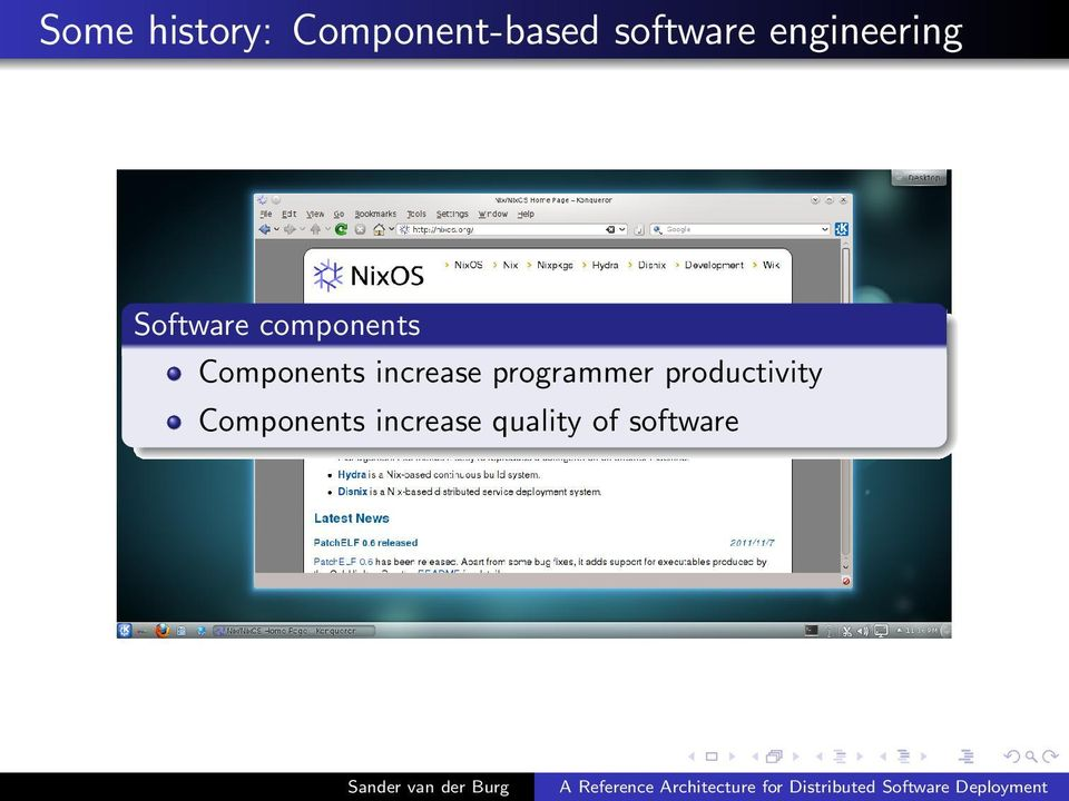 Components increase programmer