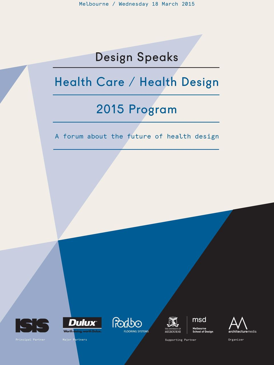future of health design Principal