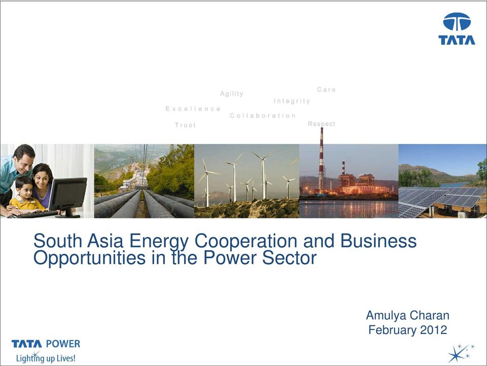 Opportunities in the Power Sector Date, Venue,