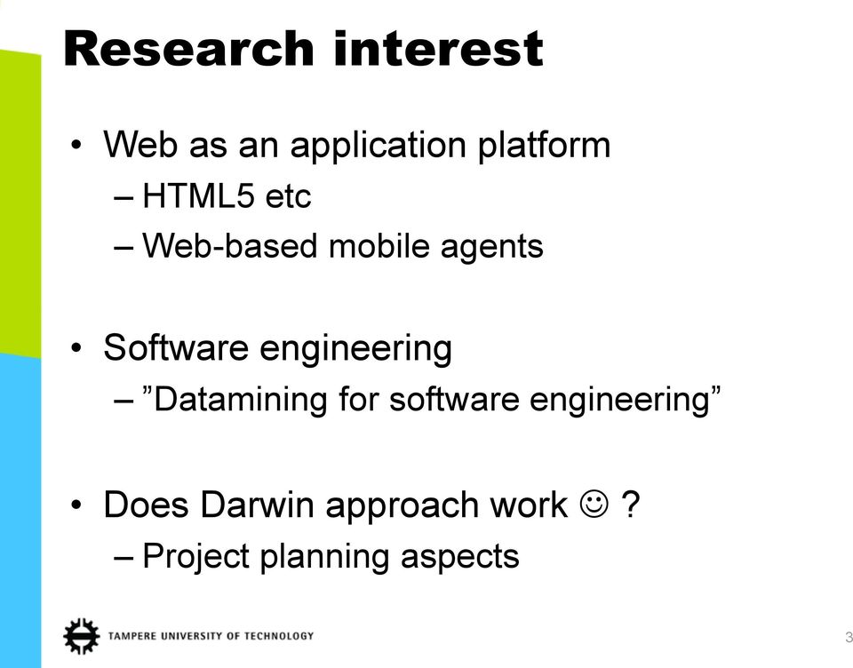 engineering Datamining for software engineering