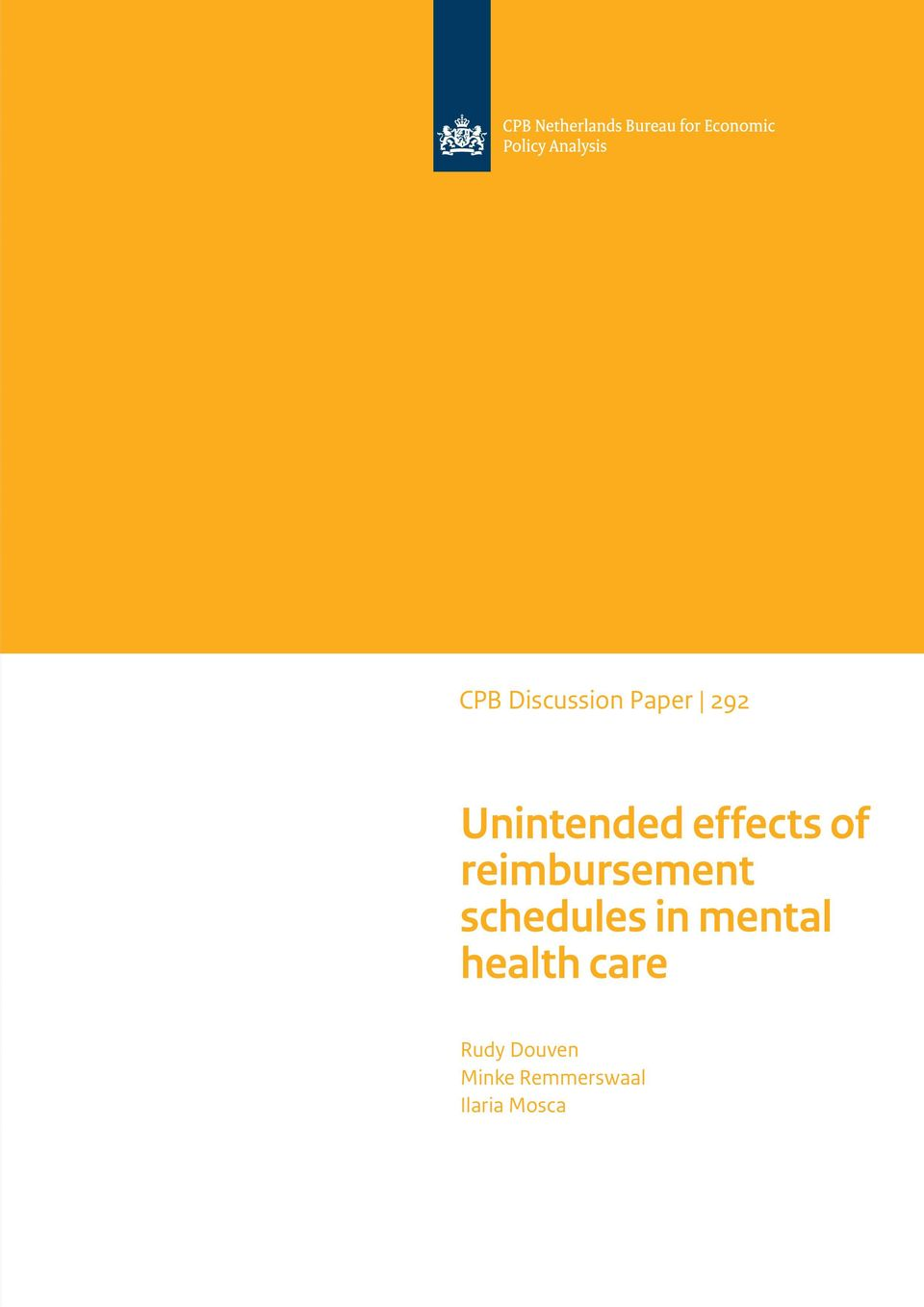 reimbursement schedules in mental