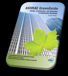 40 For more information For more information ASHRAE GreenGuide (3rd edition), The Design, Construction, and Operation of Sustainable Buildings ASHRAE Press and Butterworth-Heinemann an imprint of