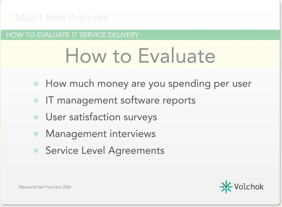 user IT management software reports User