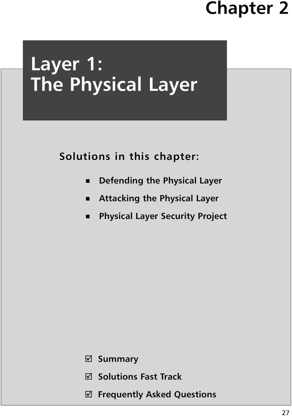the Physical Layer Physical Layer Security Project