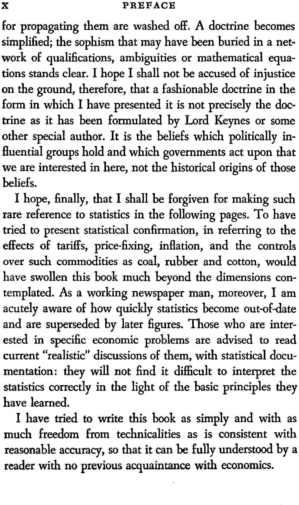 Lord Keynes or some other special author.