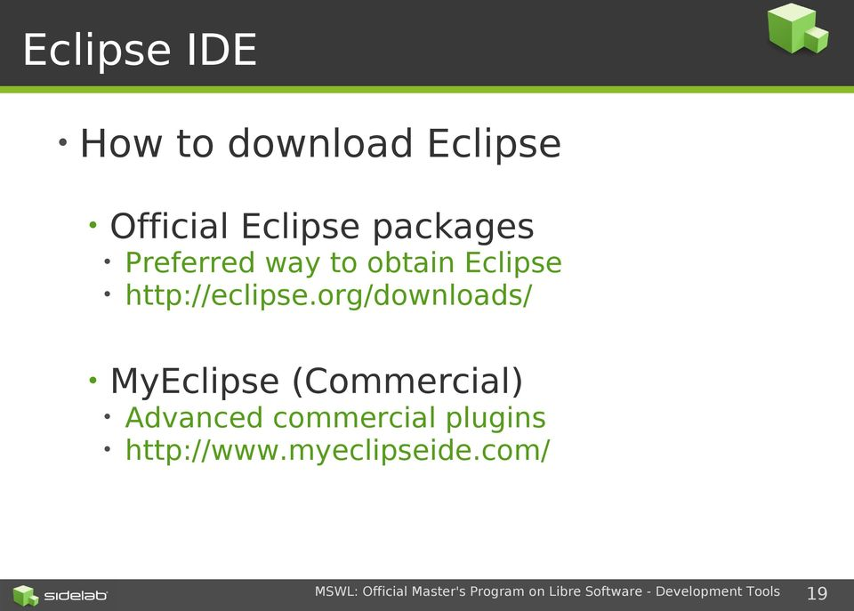 http://eclipse.