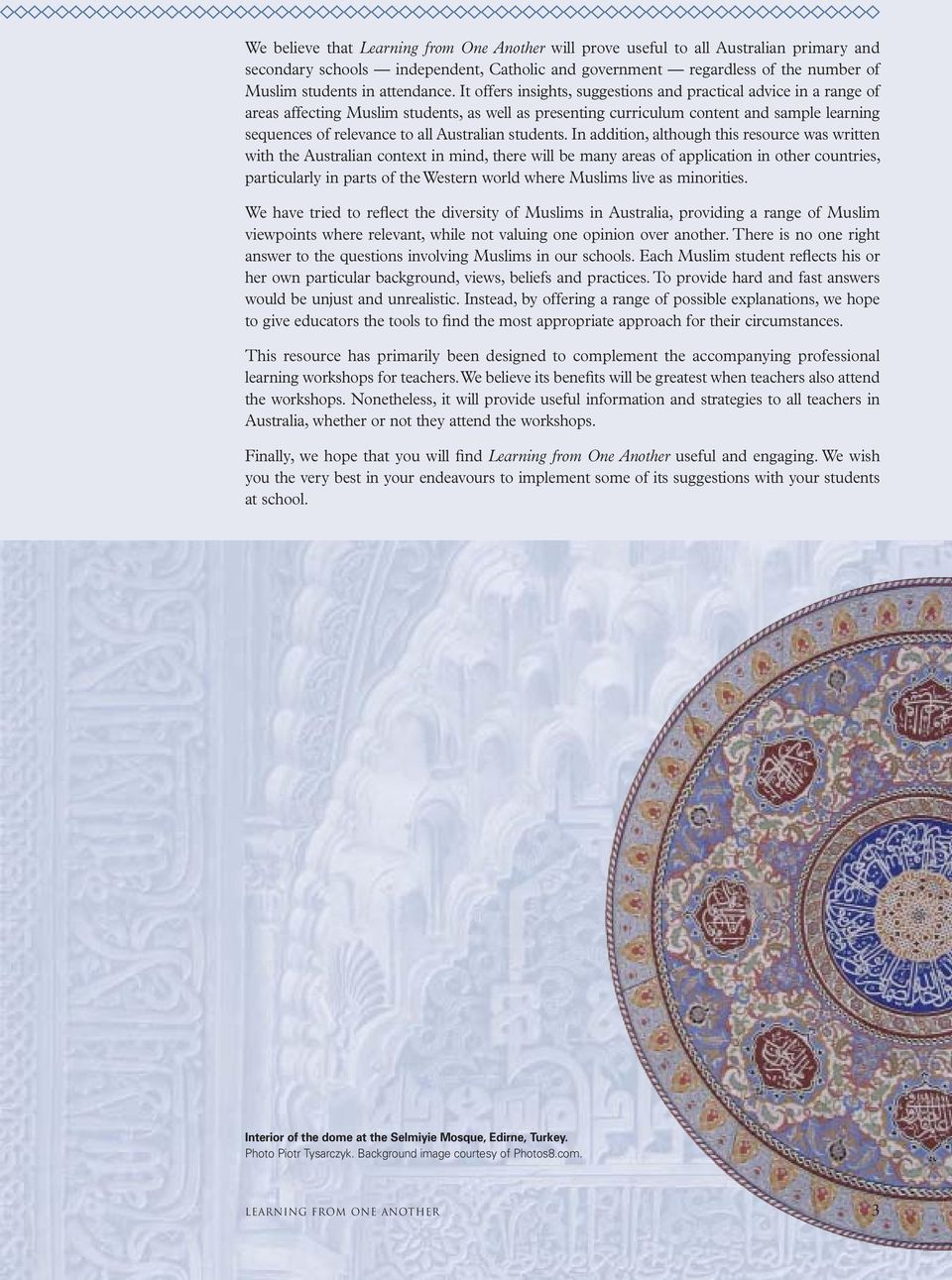It offers insights, suggestions and practical advice in a range of areas affecting Muslim students, as well as presenting curriculum content and sample learning sequences of relevance to all