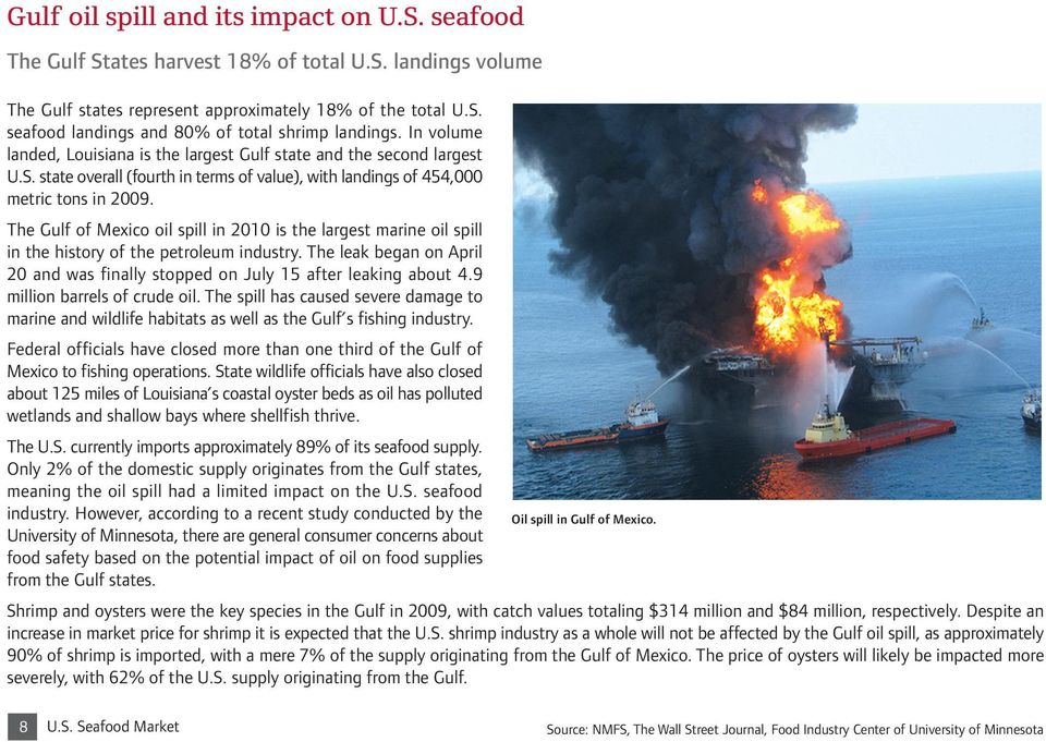 The Gulf of Mexico oil spill in 2010 is the largest marine oil spill in the history of the petroleum industry. The leak began on April 20 and was finally stopped on July 15 after leaking about 4.