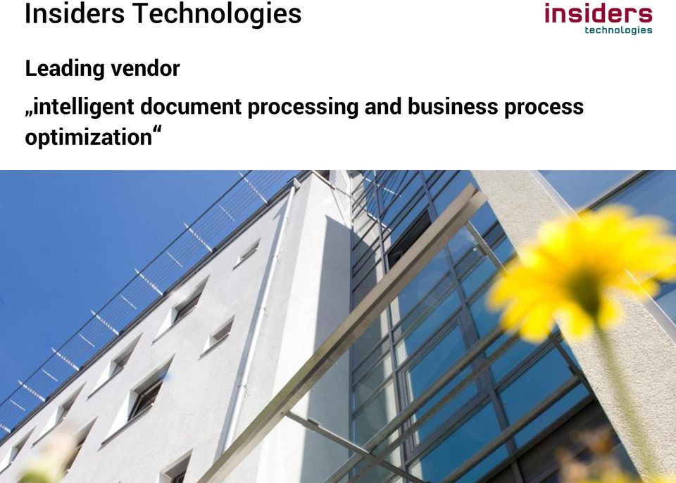 processing and business process