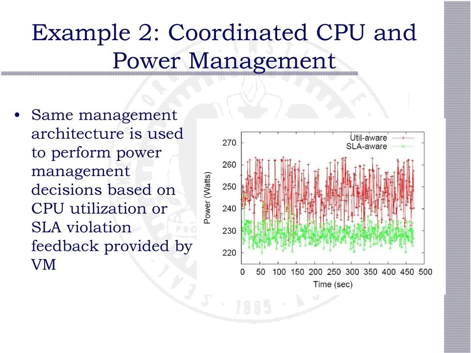 used to perform power management decisions