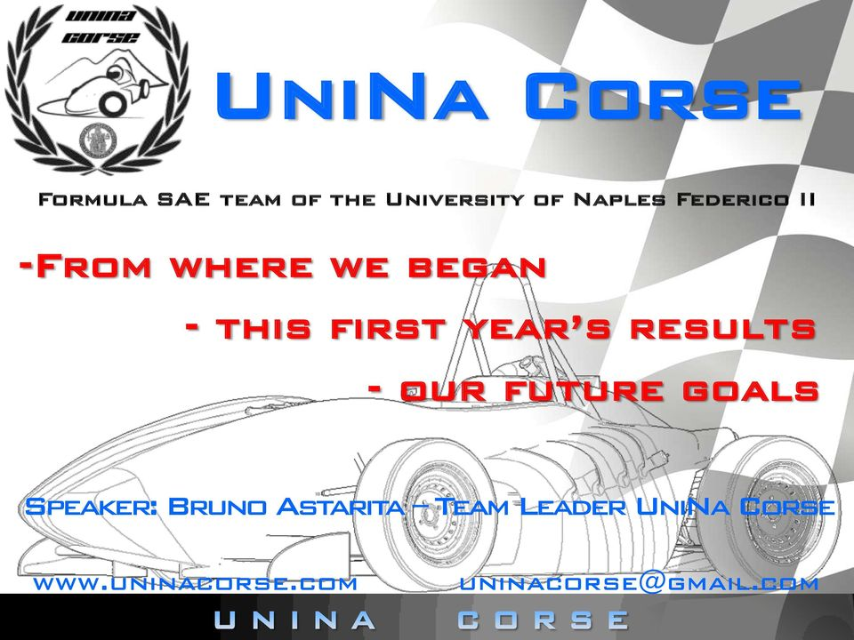 year s results - our future goals Speaker: Bruno