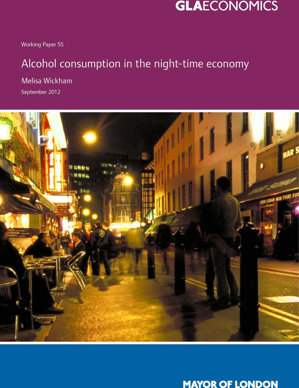 night-time economy