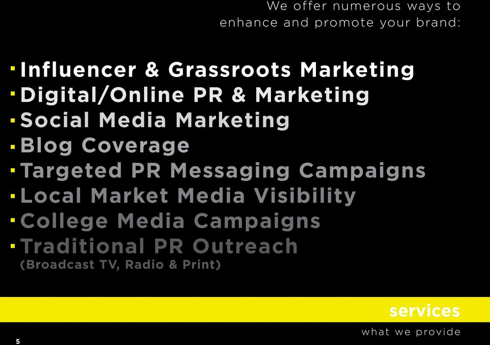 Targeted PR Messaging Campaigns Local Market Media Visibility College Media