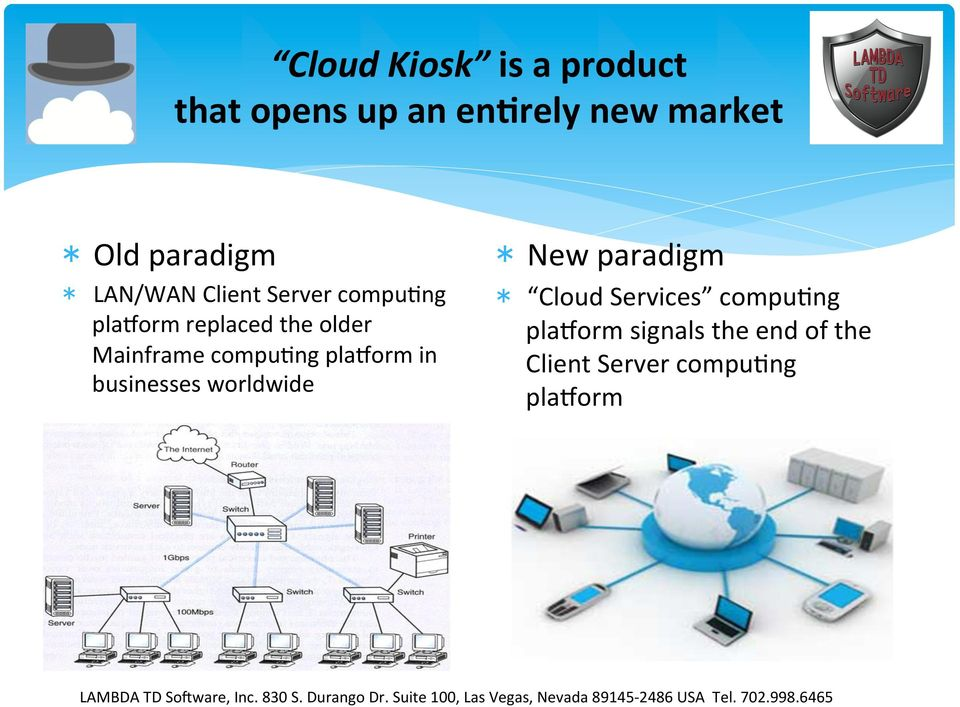 Mainframe compupng plaqorm in businesses worldwide New paradigm Cloud