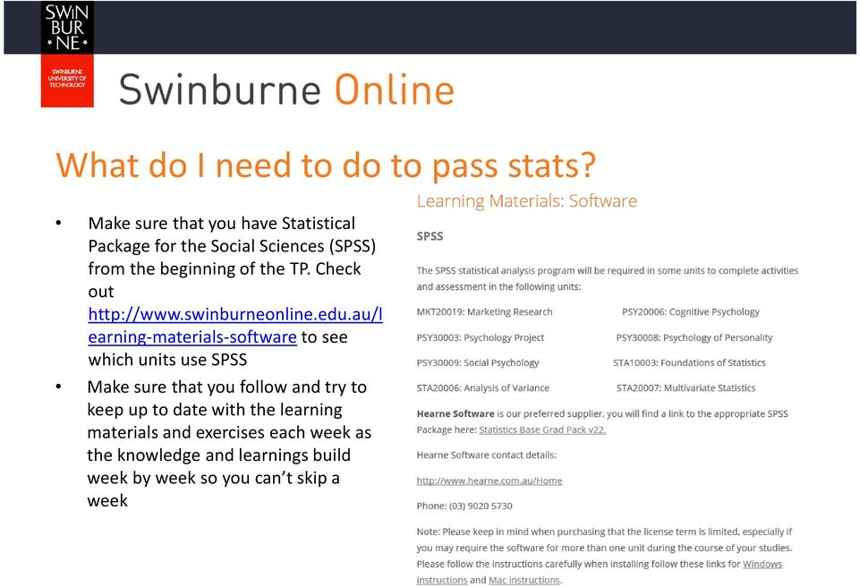 Check out http://www.swinburneonline.edu.