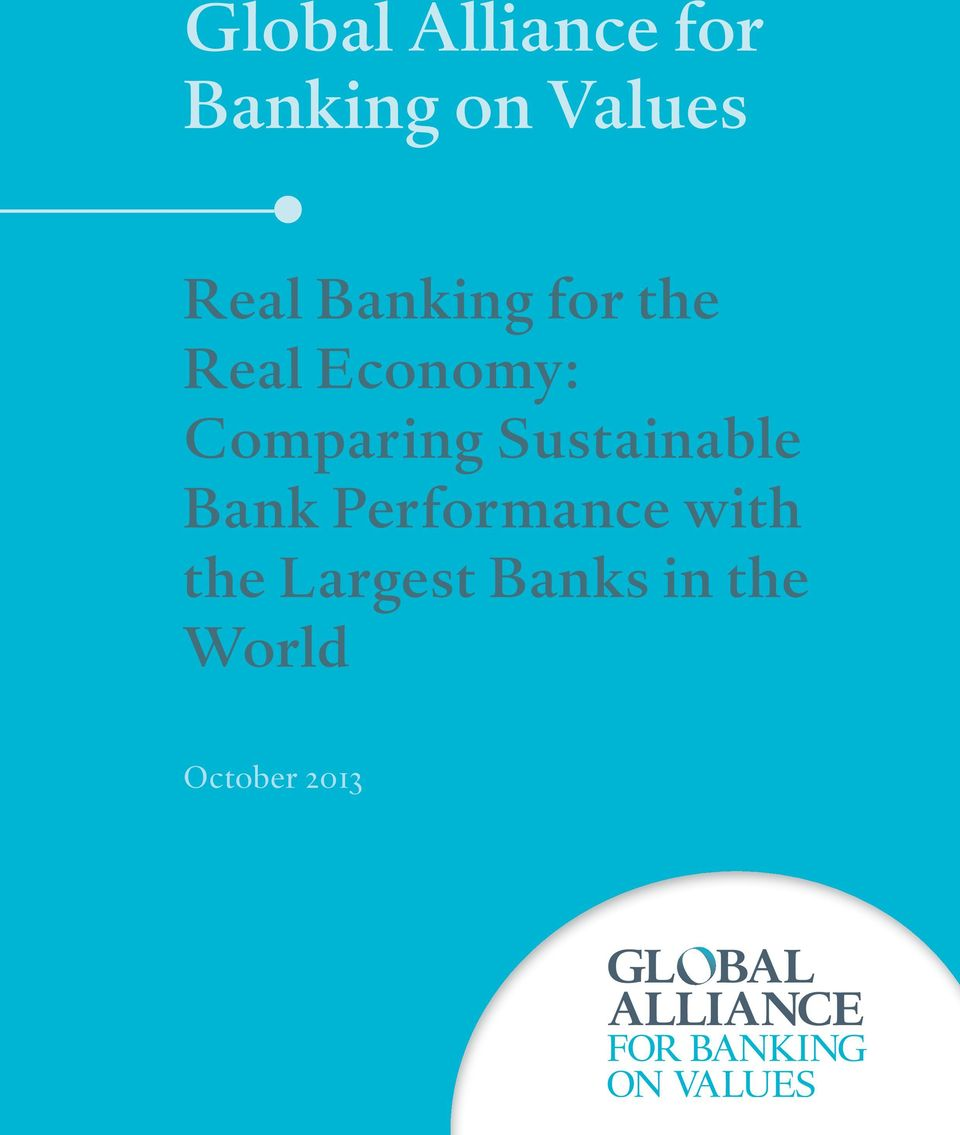 Comparing Sustainable Bank Performance