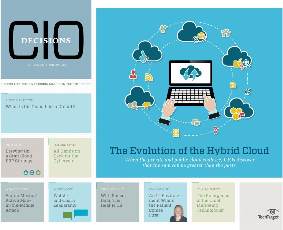 Hybrid Cloud When the private and public cloud
