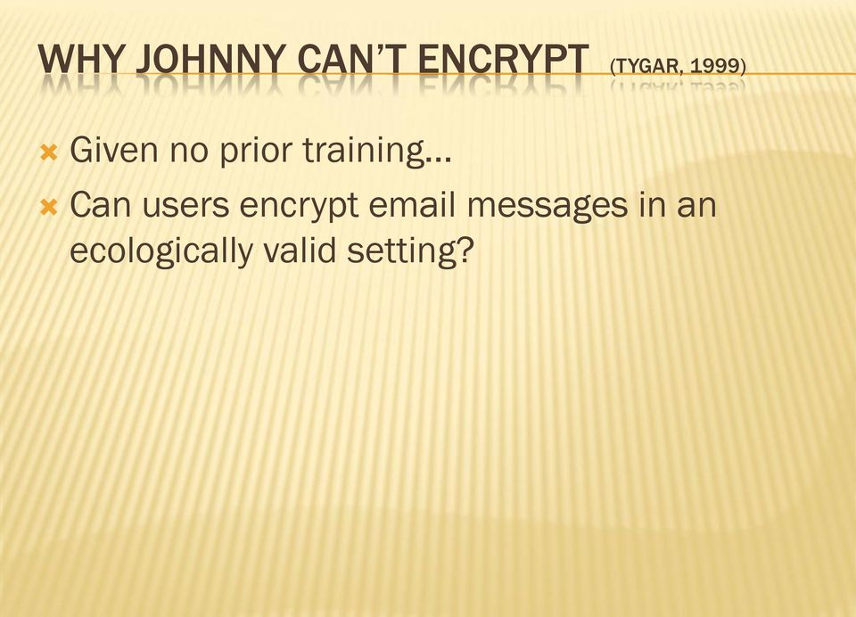 Can users encrypt email messages