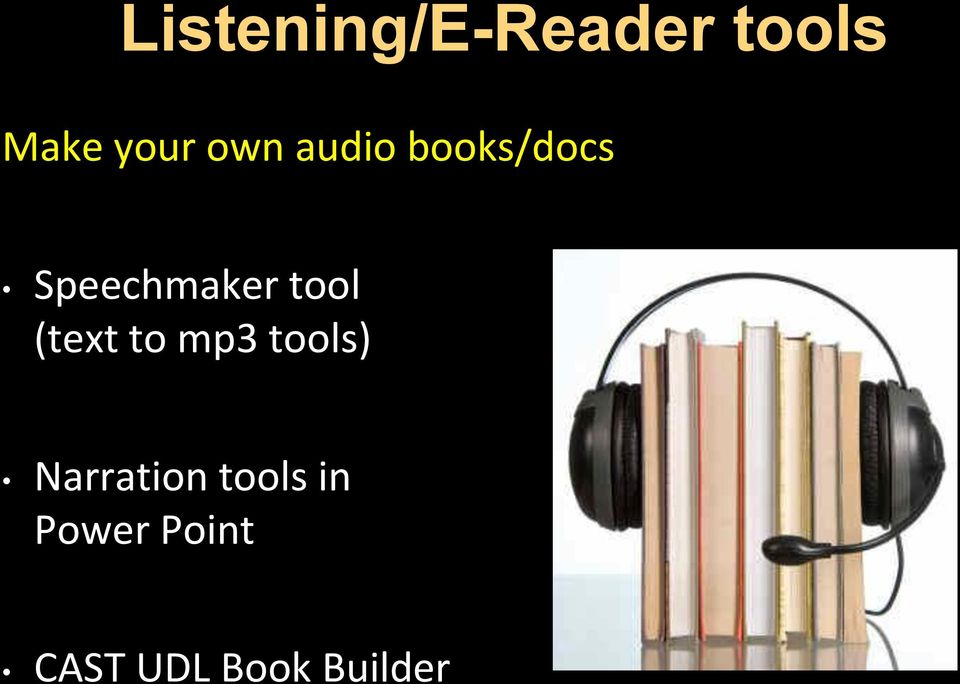 tool (text to mp3 tools) Narration