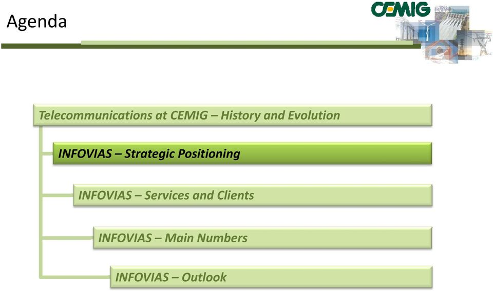 Strategic Positioning INFOVIAS