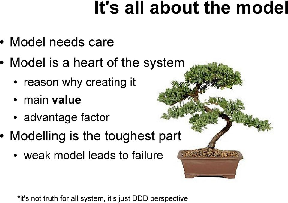 factor Modelling is the toughest part weak model leads to