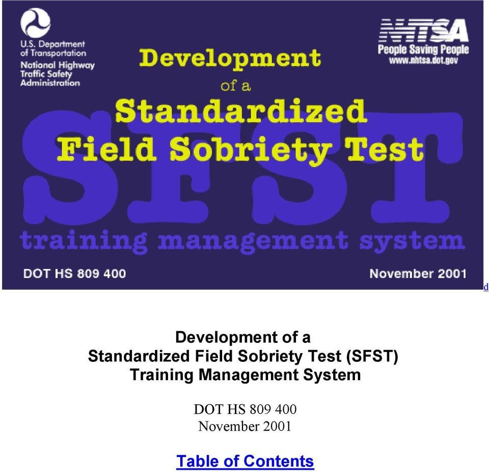 Training Management System DOT