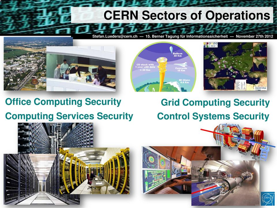 Computing Services Security Grid