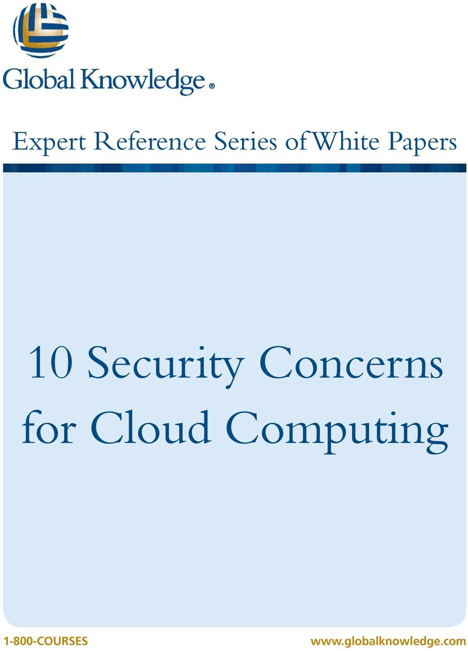 Concerns for Cloud Computing