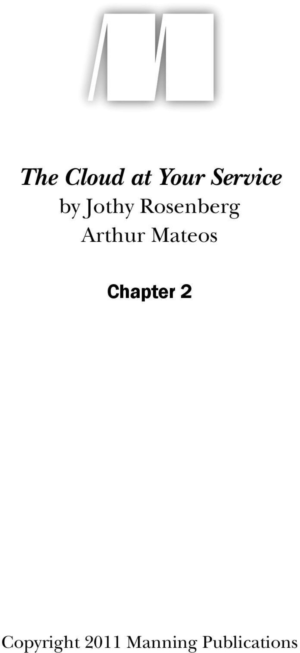 Mateos Chapter 2
