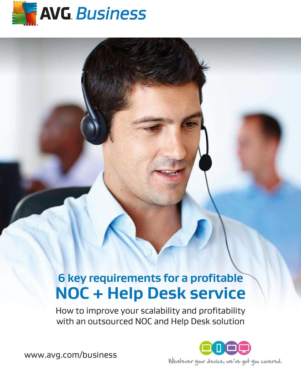profitability with an outsourced NOC and Help Desk