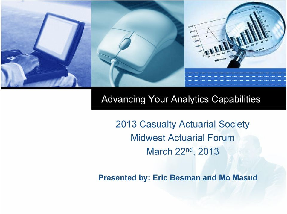 Midwest Actuarial Forum March 22 nd,