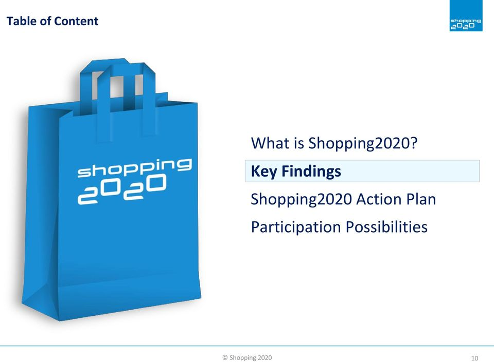 Key Findings Shopping2020