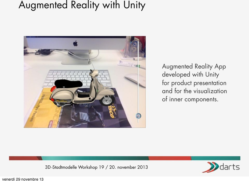 with Unity for product presentation