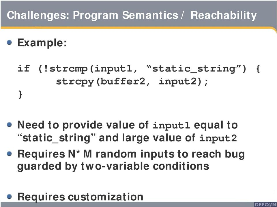 provide value of input1 equal to static_string and large value of input2
