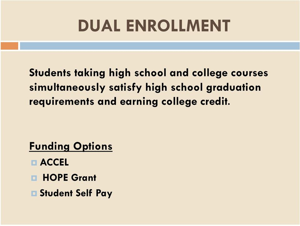 school graduation requirements and earning